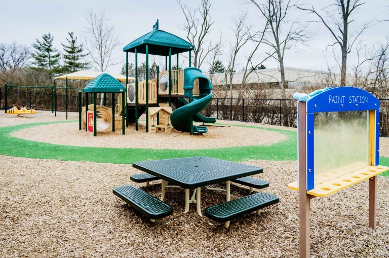 preschool playground in Blue Ash