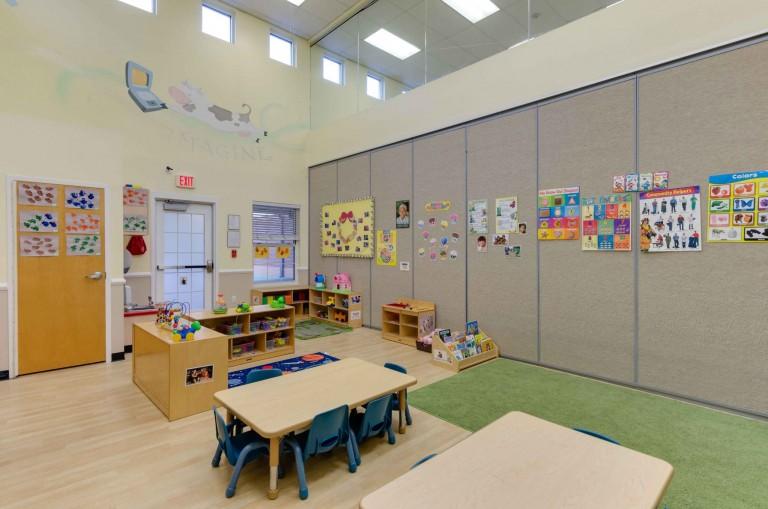 preschool activity room
