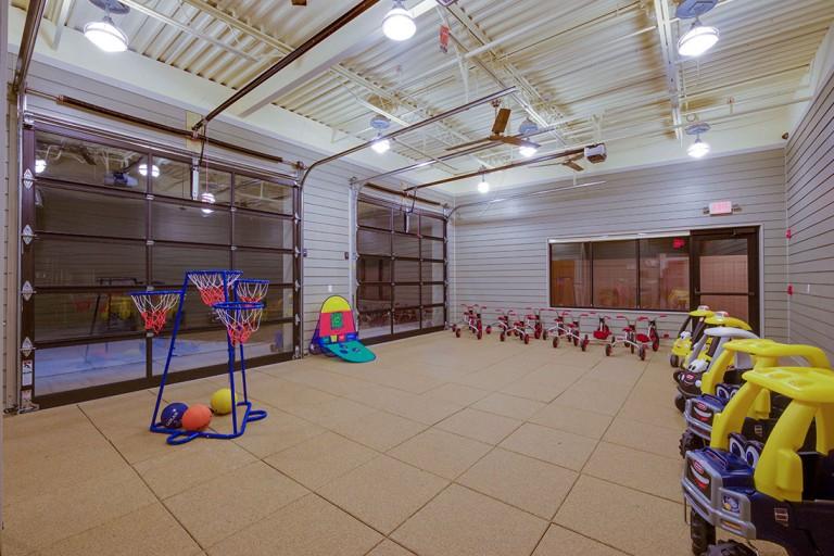 Outdoor activities at Herndon, VA preschool